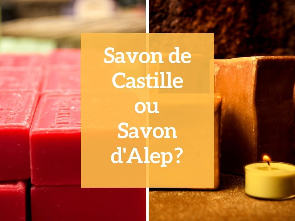 savon alep ou castille - savon - natura bon