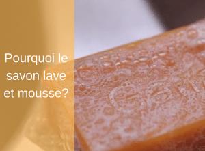 Pourquoi le savon lave et mousse? - Corps - Natura bon