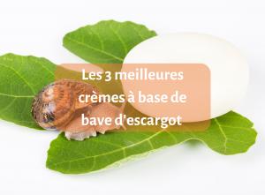 Les 3 meilleures crèmes à base de bave d'escargot — Guide complet - crème - guide - natura bon