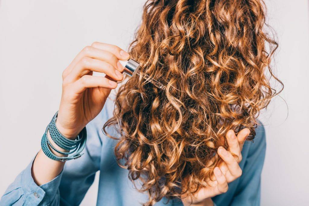 sérum de squalane pour les cheveux
