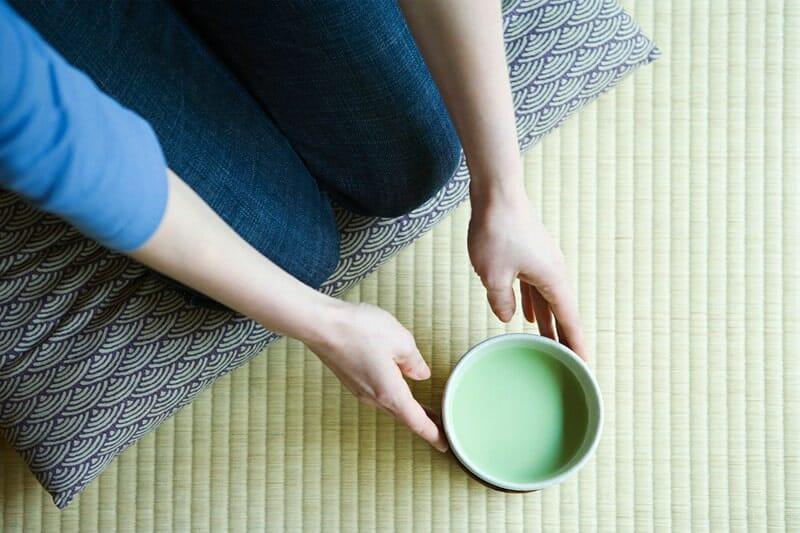 Thé vert pour crème
