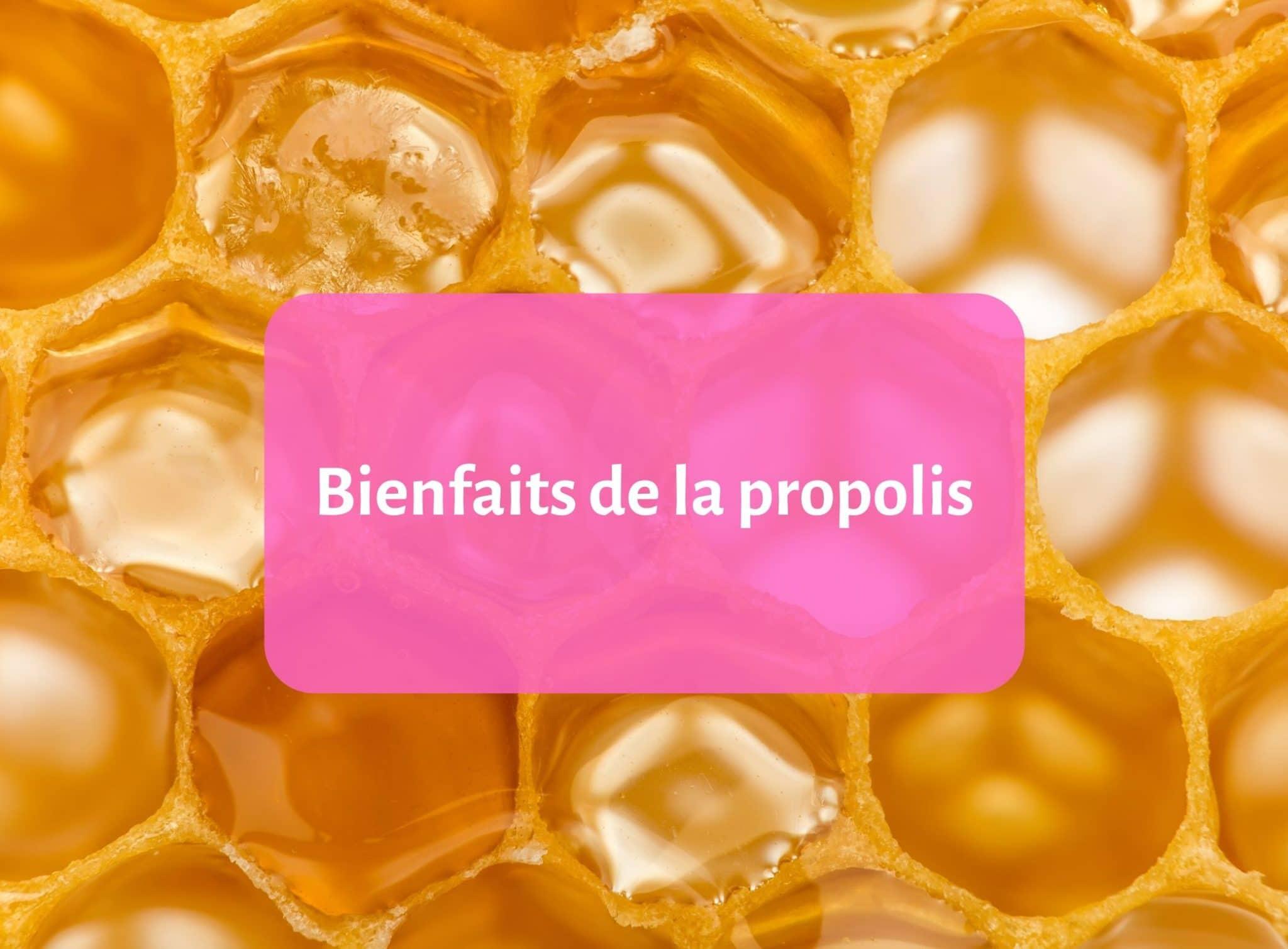 Les bienfaits de la propolis dans le savon